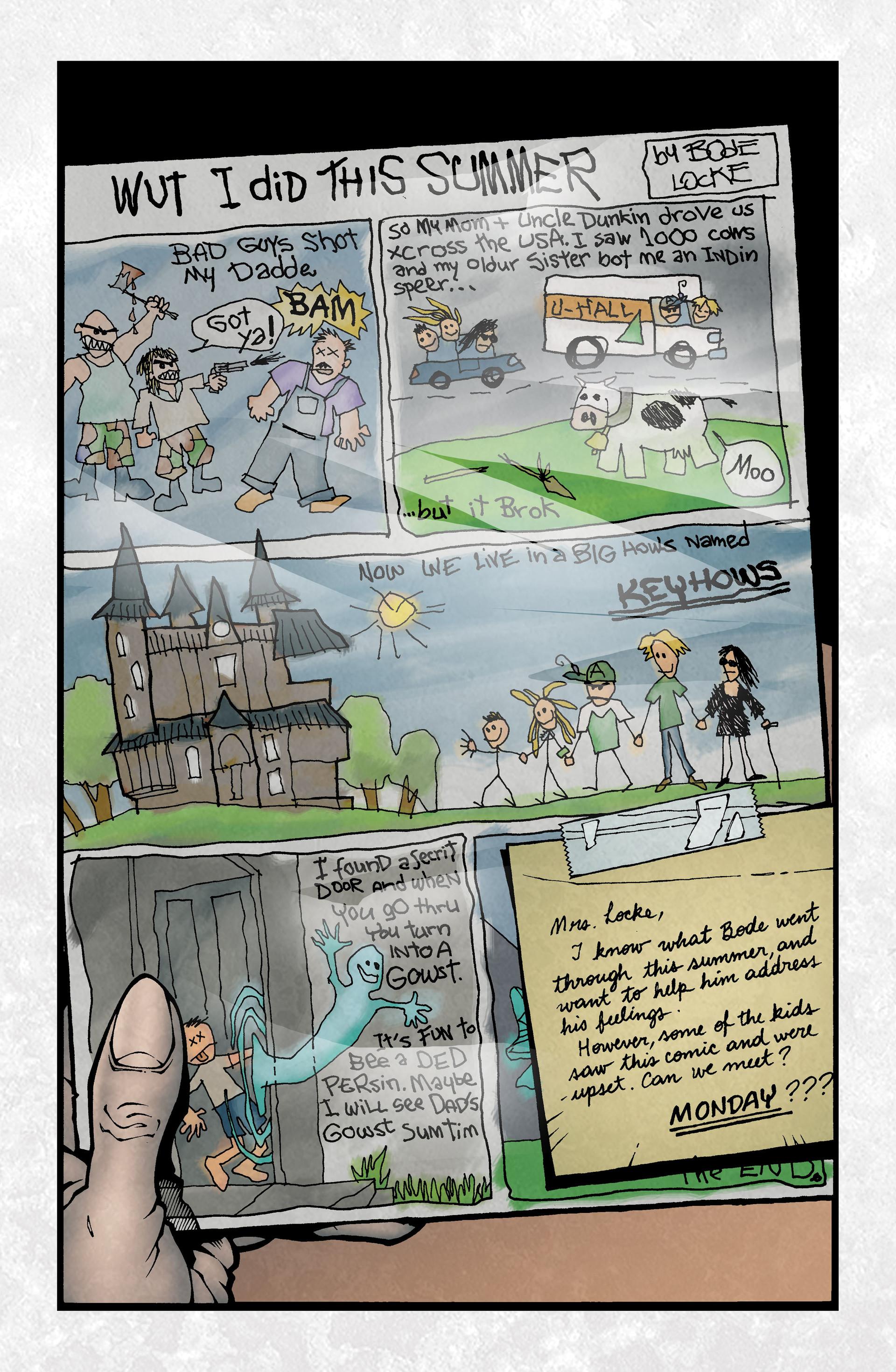 Locke & Key (2008) Issue #2 #2 - English 4