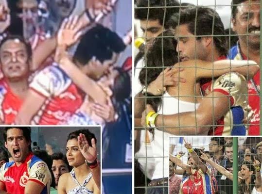 of Sid Mallya and Deepika Deepika Padukone With Siddharth Mallya Kiss