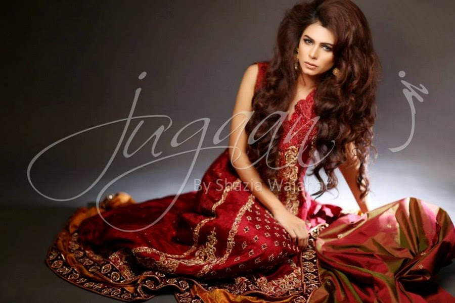 Jugaan Winter Bridal Collection 2014-2015