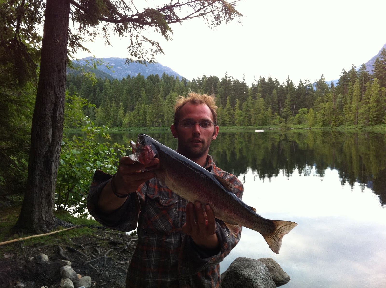 Pemberton fish finder bc fishing reports whistler for Mosquito lake fishing