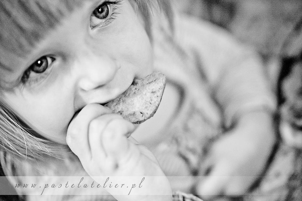 dziecko je kruche ciasteczka