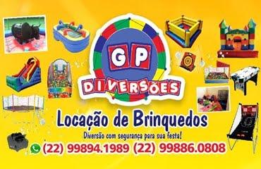 GP DIVERSÕES - LOCAÇÃO DE BRINQUEDOS