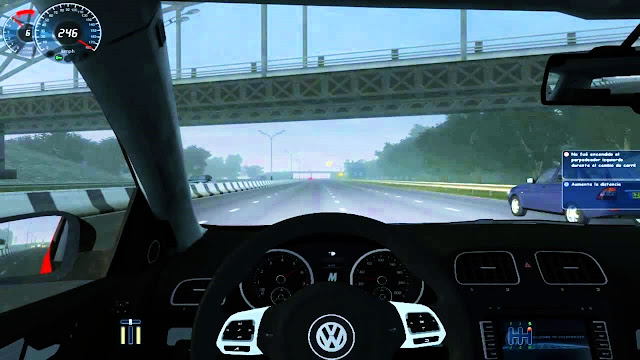 City Car Driving Simulator 2009 Screenshot 1