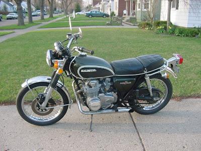 1972 Honda CB500 motorcycle, 4 cylinder,