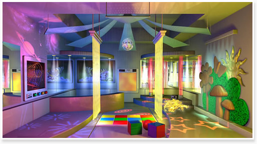 Sensory Integration Therapy for Children With Autism Sensory Rooms