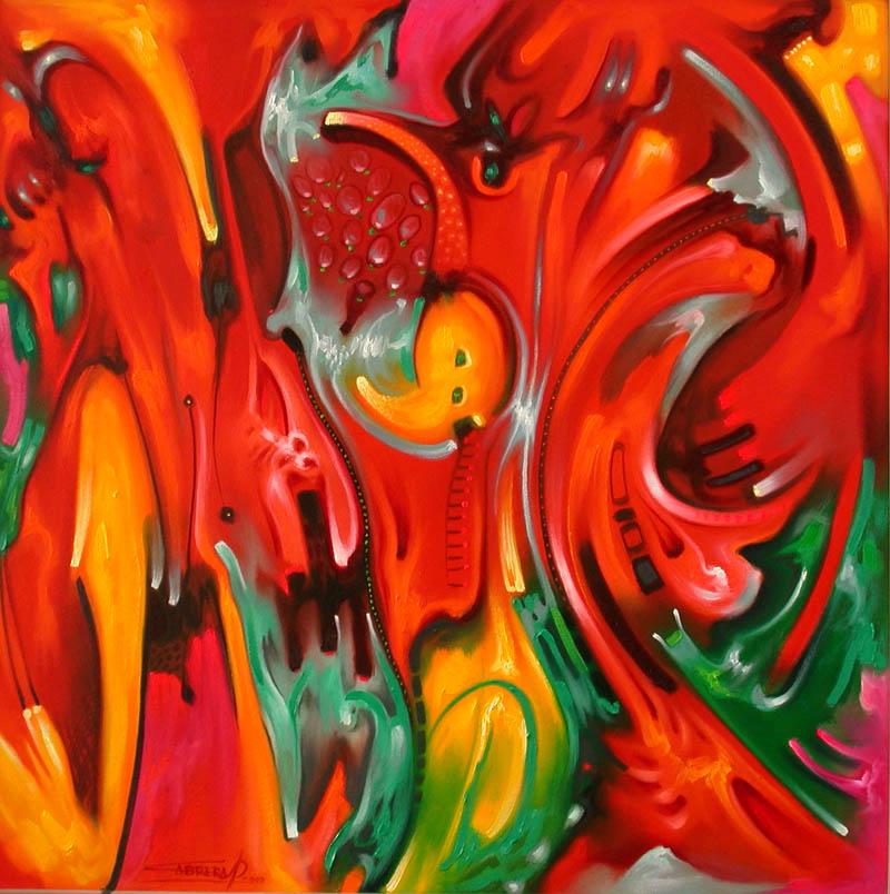 Pintura moderna y fotograf a art stica galer a pinturas for Imagenes de cuadros abstractos rusticos