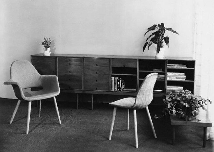 Mid Centuria Art Design And Decor From The Mid Century And Beyond Eero Saarinen Design Archive