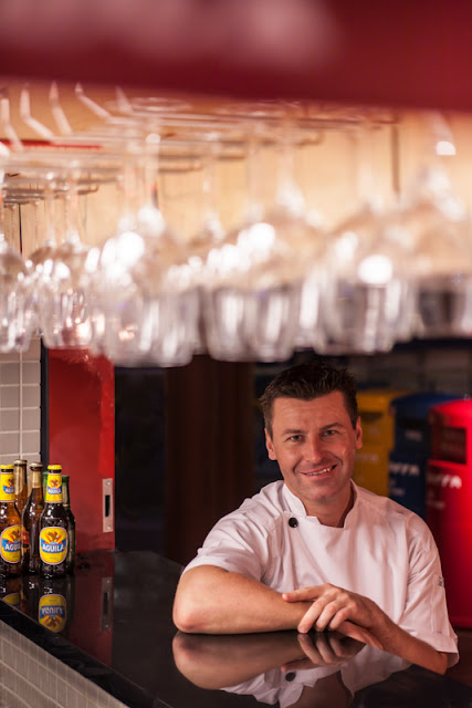 Chef Michael Fraser, Executive Chef of La Barra Colombian Bistro, Singapore