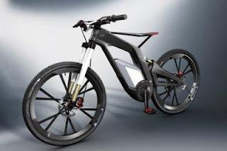 sepeda listrik canggih