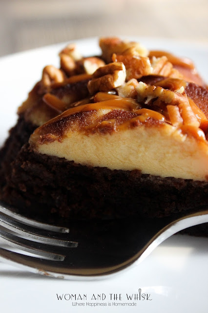 Woman and the Whisk: Mexican Chocolate Flan Cake