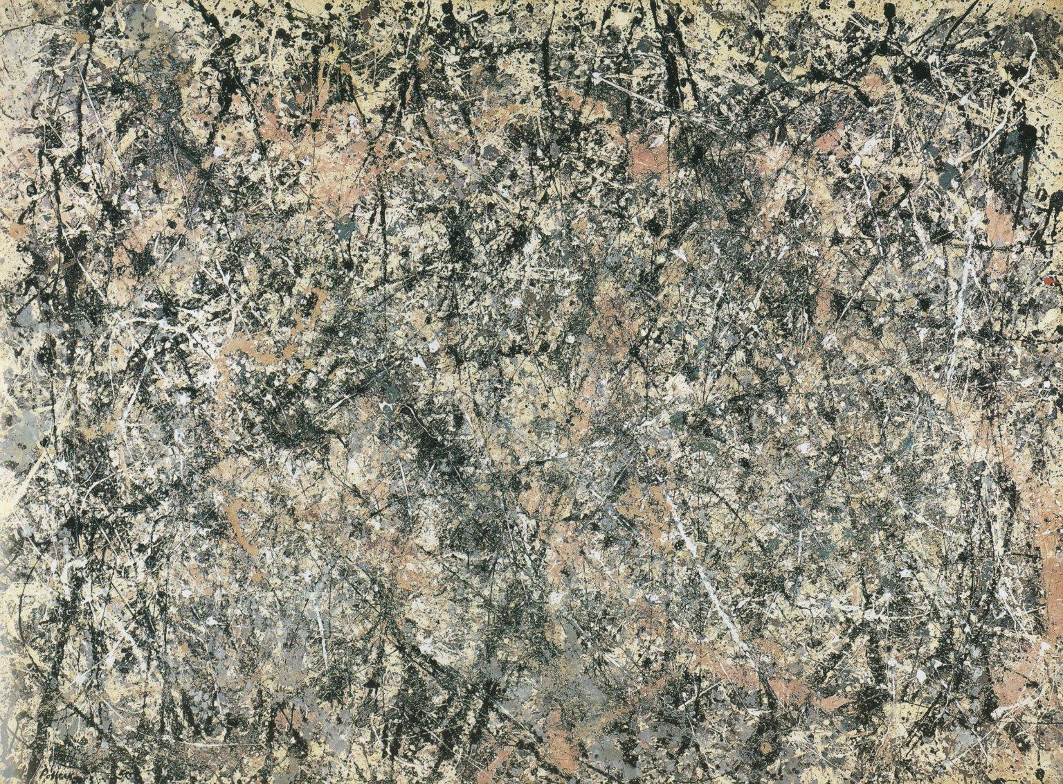Number 1 (Laven... Jackson Pollock Number 10 1949