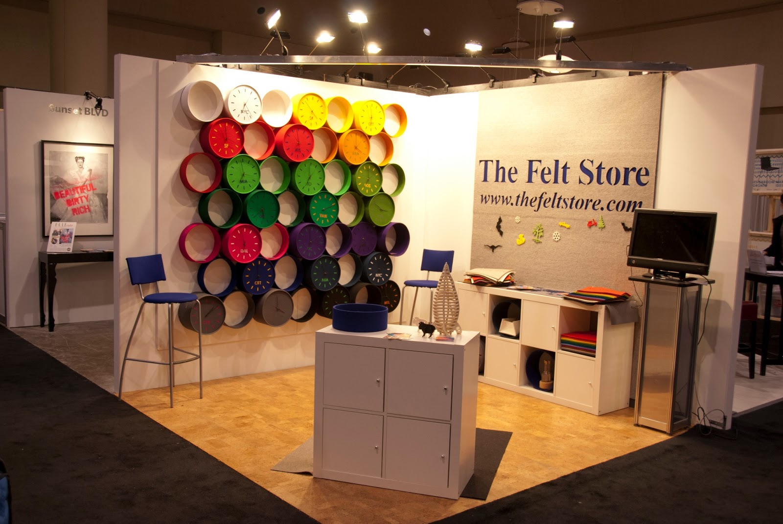 The Felt Store Toronto Interior Design Show 2013 The Aftermath