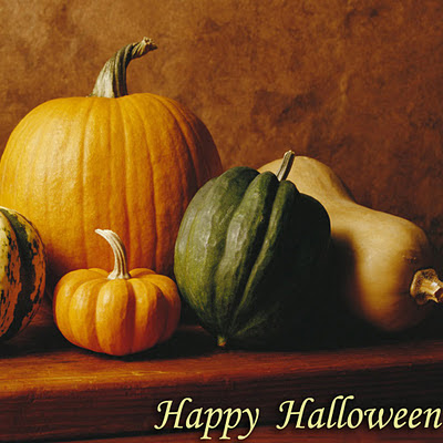 Happy Halloween, free e-cards download free wallpapers for Apple iPad