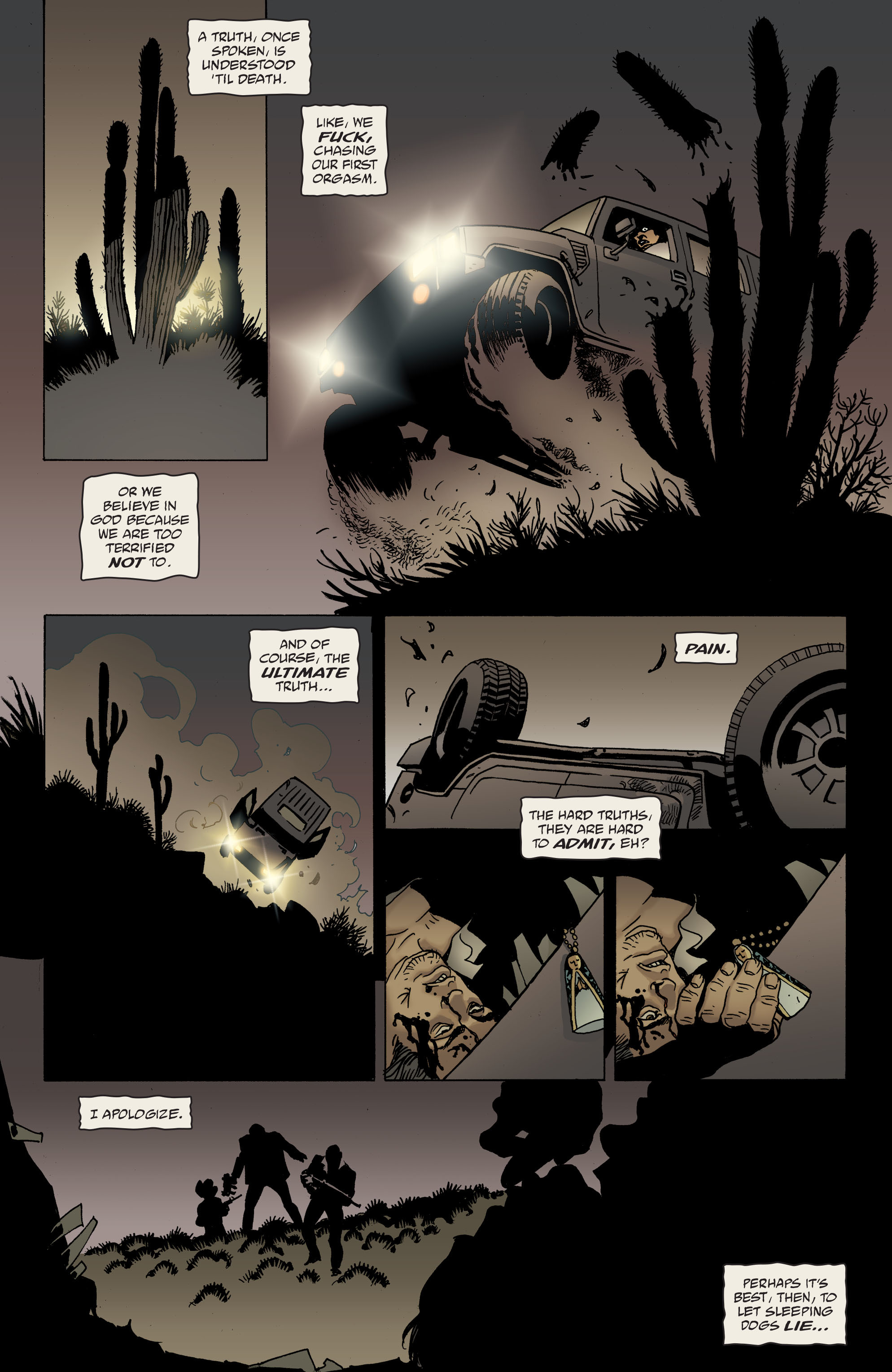 100 Bullets: Brother Lono Full Page 139