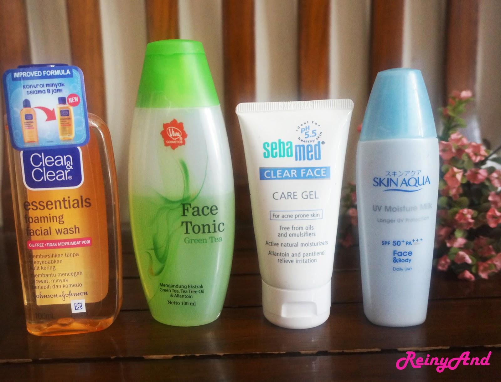 Skincare routine wardah untuk remaja
