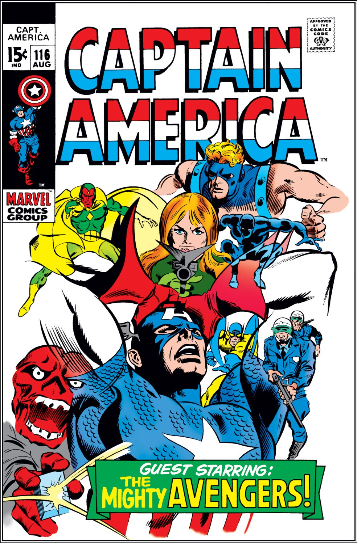 Captain America (1968) Issue #116 #30 - English 1