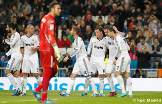 Hasil lLiga Spanyol | Real Madrod vs Real Zaragoza 4-0