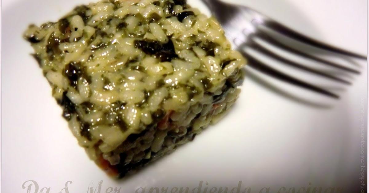 Da mer aprendiendo a cocinar risotto de algas for Como cocinar risotto