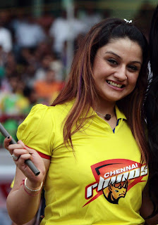 Sonia Agarwal Photo at Celebrity Cricket League 2013