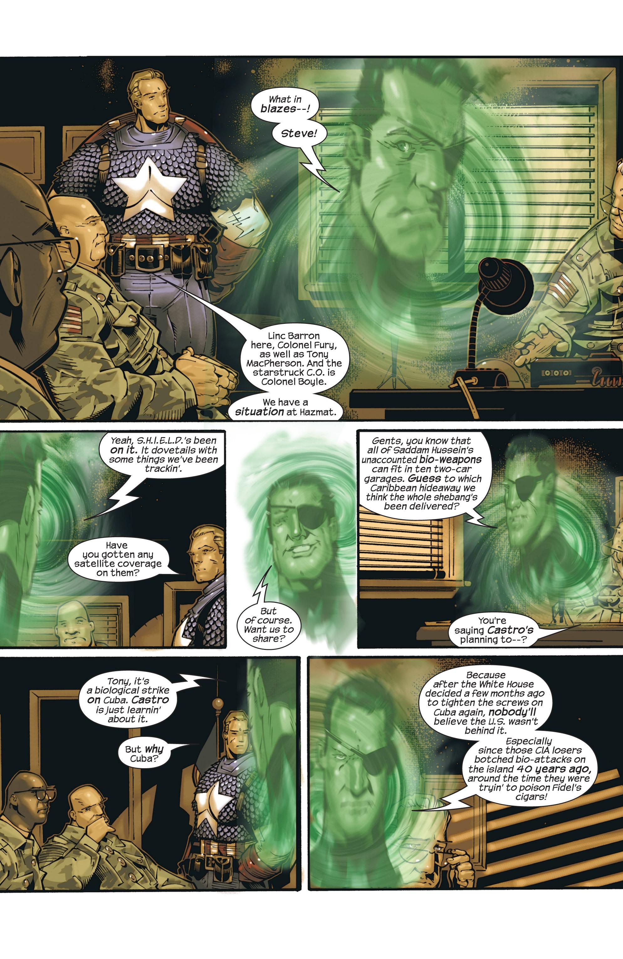 Captain America (2002) Issue #23 #24 - English 14