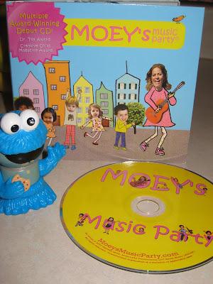 Award Winning Moeys Music Party Kids CD