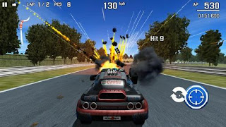 Screenshots of the Metal racer for Android tablet, phone.
