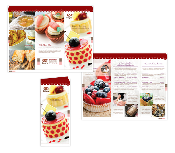 bakery brochure template - designer articles saw an article written by a very real