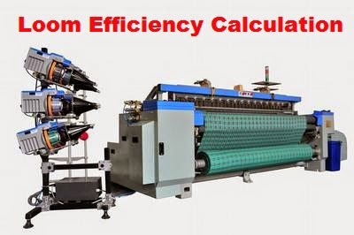 Calculation of Weaving Loom Efficiency