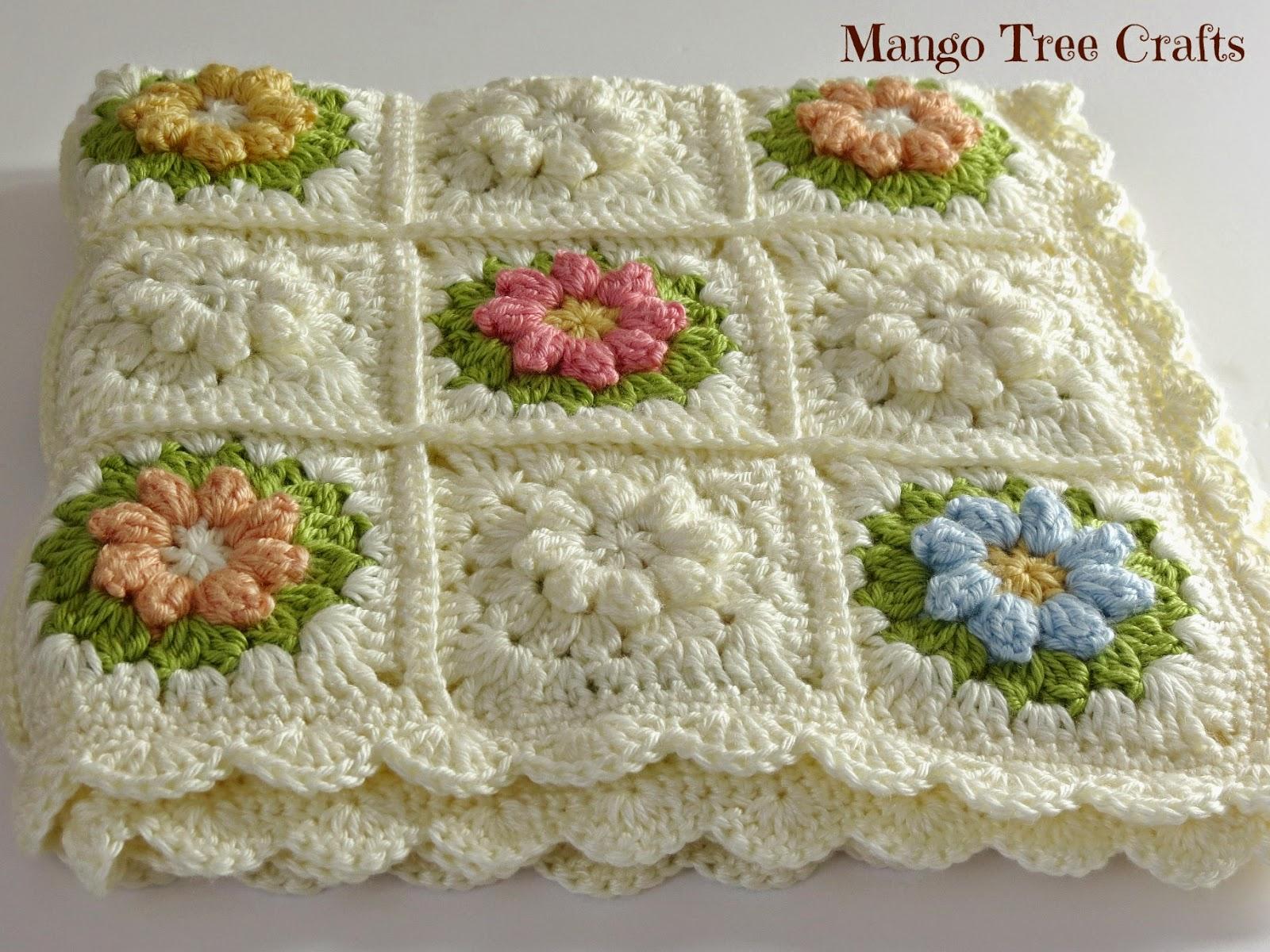 Mango Tree Crafts Crochet Baby Blanket