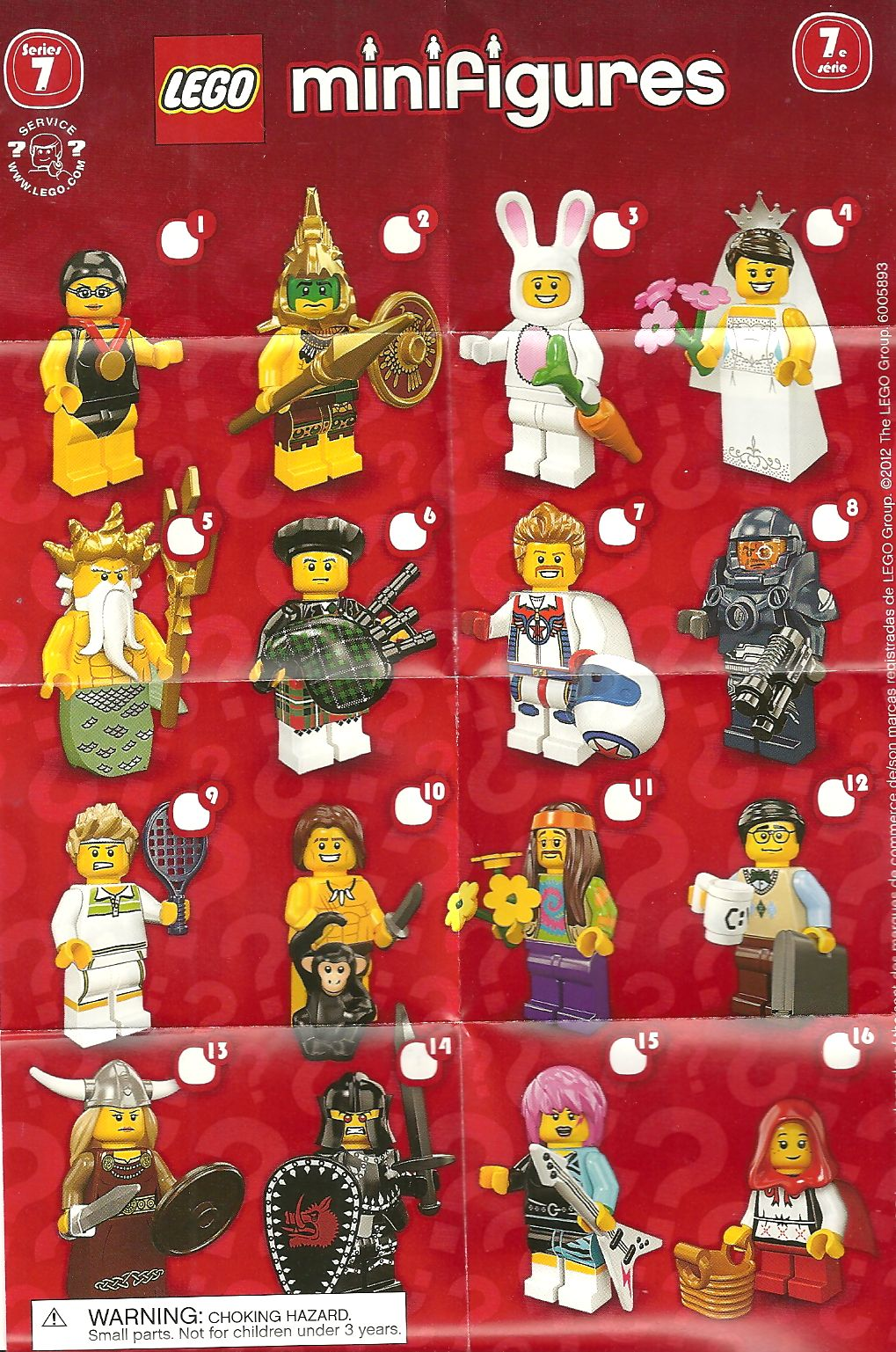 Lego Minifigures Downloads Poster Series