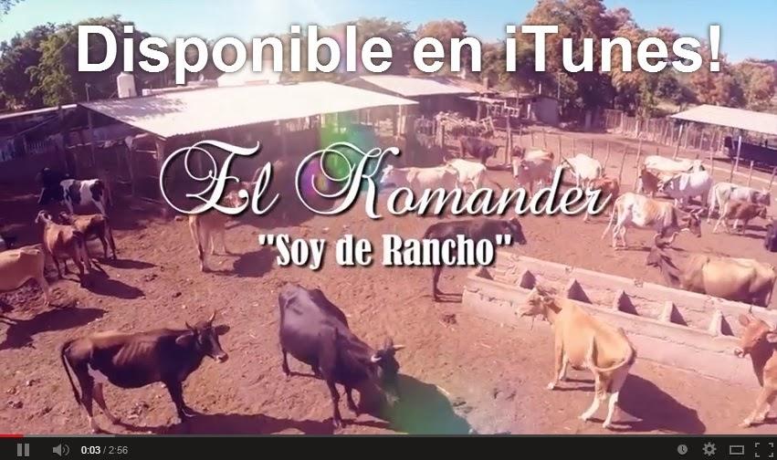 El Komander - Soy De Rancho (Video Oficial) ESTRENO 2014