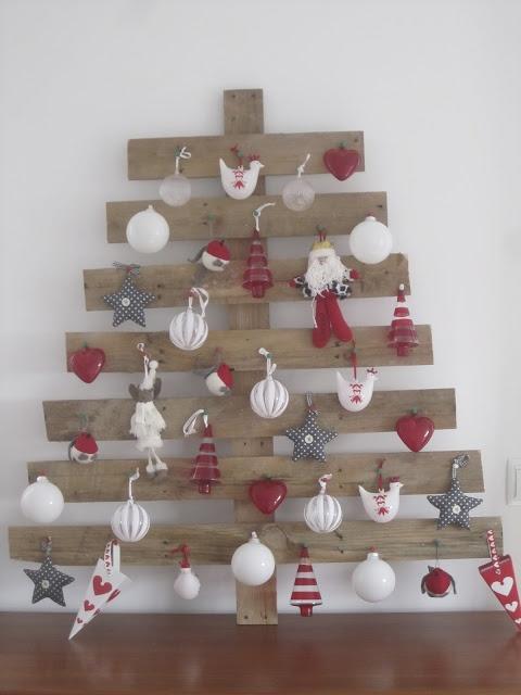 árbol de navidad de palés