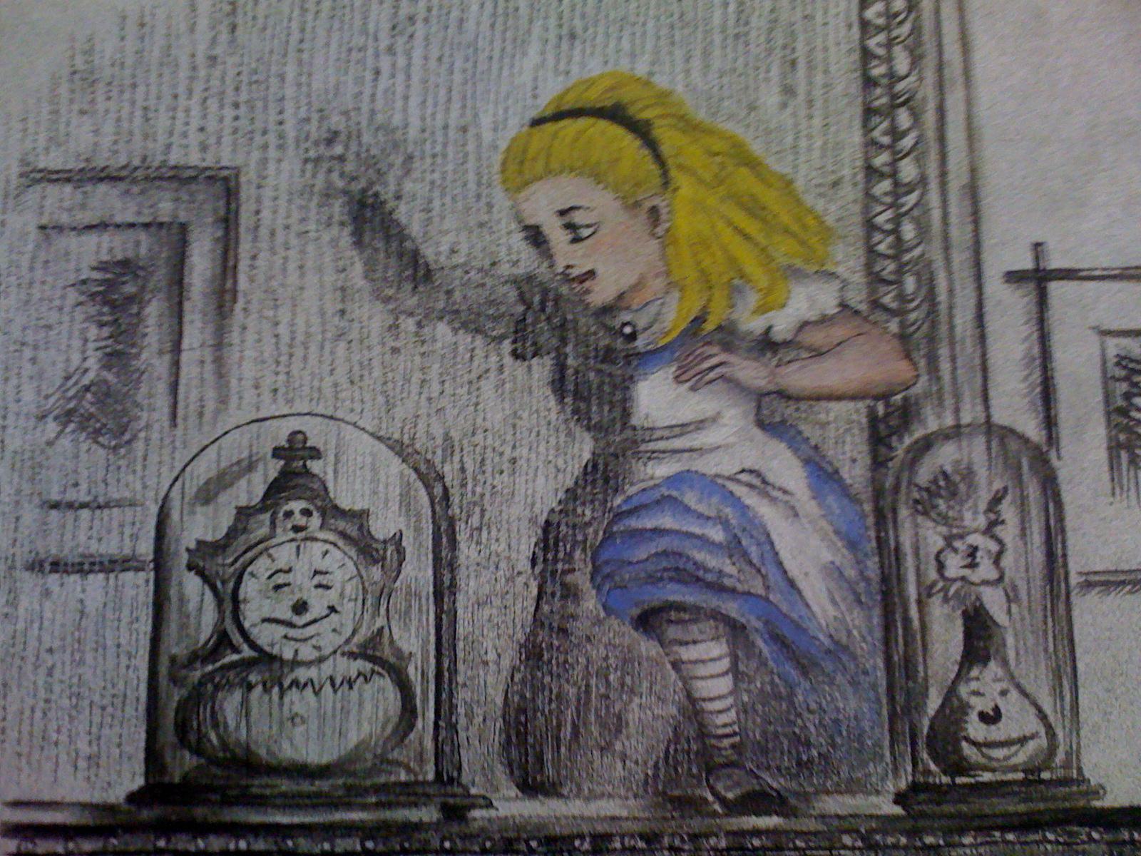 Pach progett d nfanzia alice nel paese delle meraviglie e attraverso lo specchio nell 39 arte - Lo specchio nell arte ...