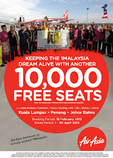 Air Asia FREE Seats 2013