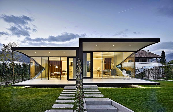 Mirror Houses by Peter Pichler Architecture on