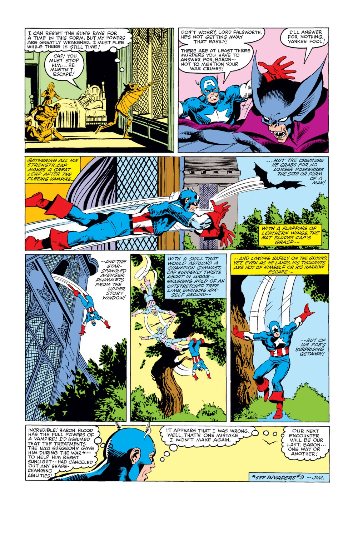 Captain America (1968) Issue #254 #169 - English 6