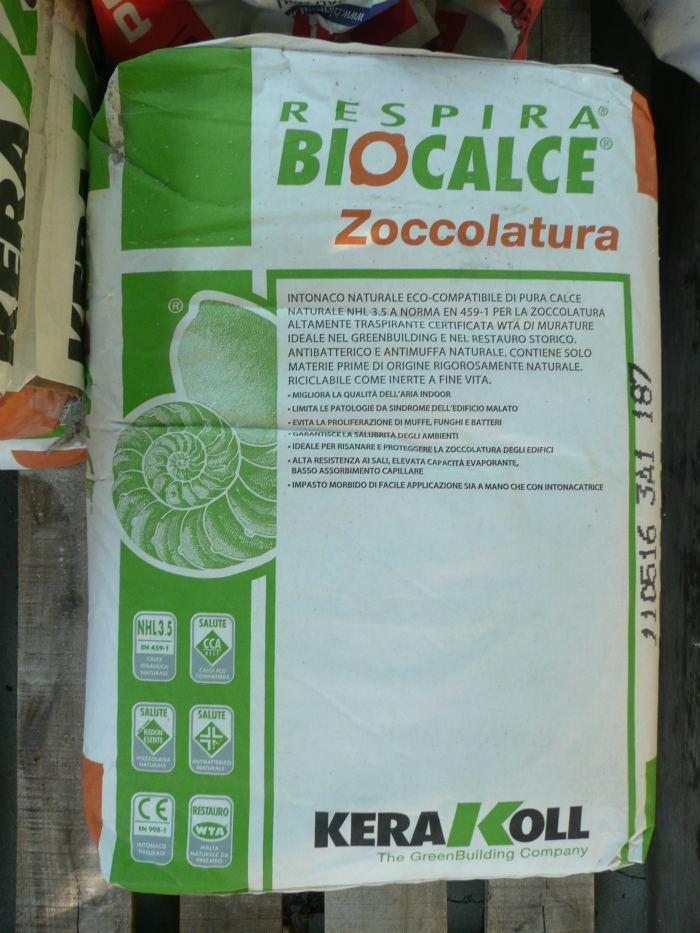 Ecomondo giugno 2011 for Biocalce intonaco