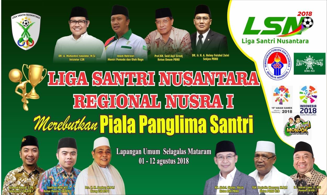 Liga Santri Nusantara Reg.  Nusra I 2018.
