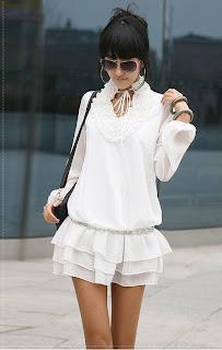 quot JAPON STYLE ABIYE VICTORIAN BEYAZ BLUZ ELBISE  28294828 0 Japon Style Kıyafet ve Kombinler