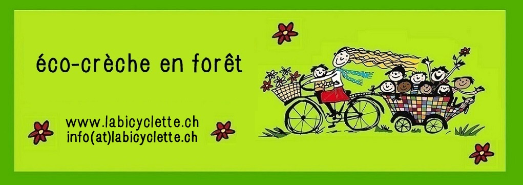 Première éco-crèche en forêt à Genève