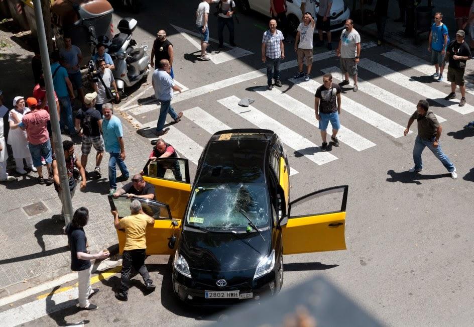 El cuaderno de Luis: Taxi, Taxi Uber Alles...