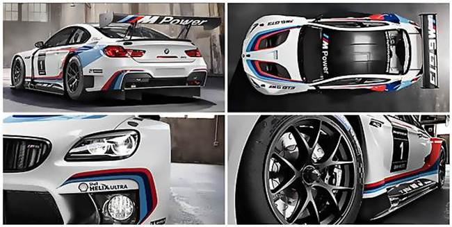 2016 BMW M6 GT3 Redesign
