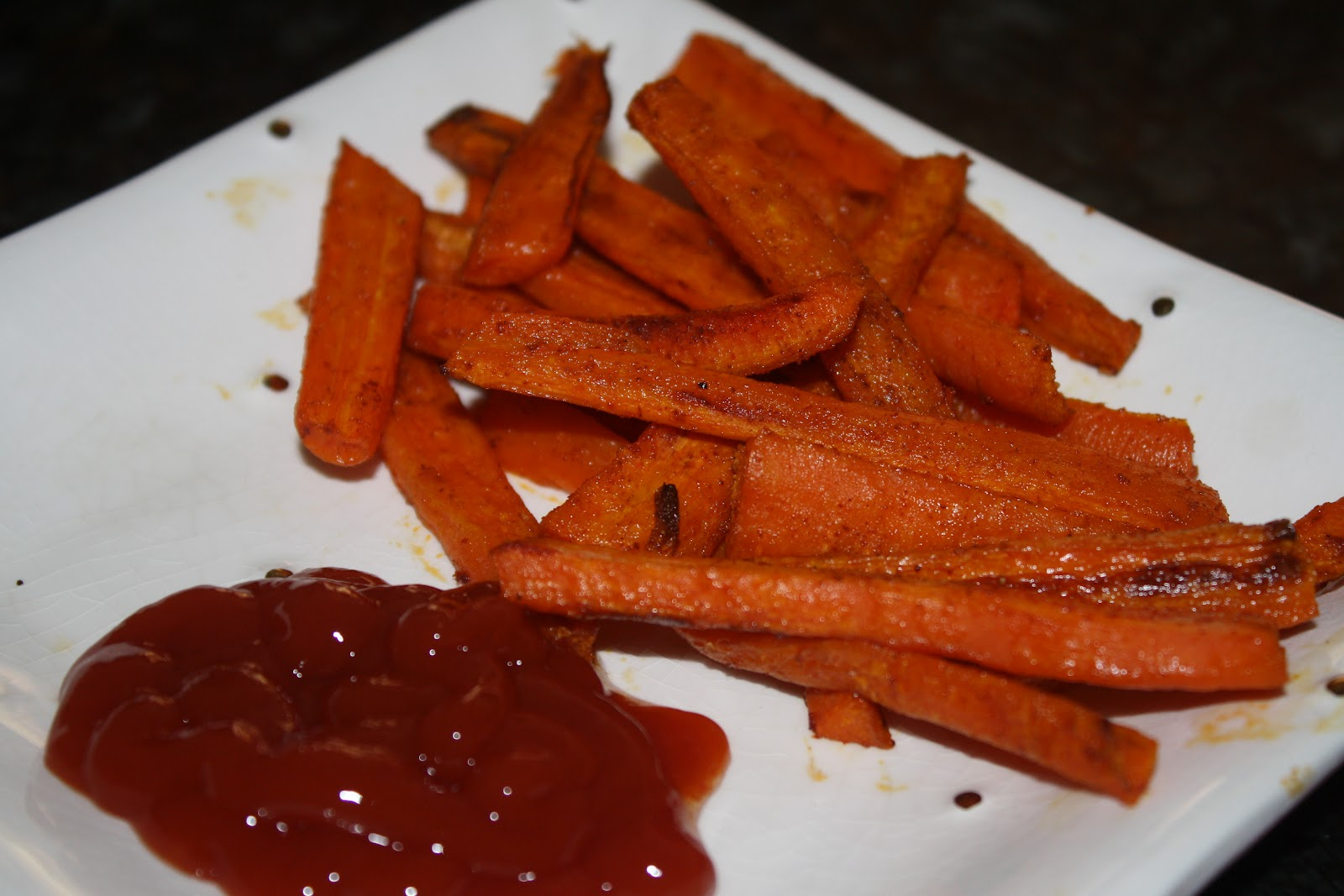 Spiced Carrot Fries Recipe — Dishmaps