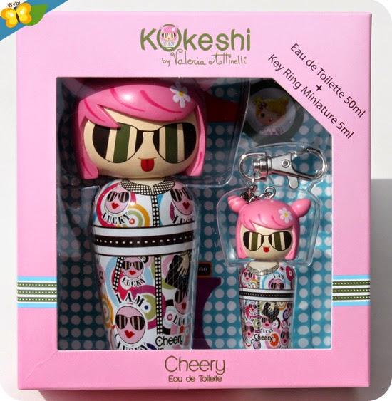 "eau de toilette kokeshi by Valeria Attineli prénommée ""Cheery"""