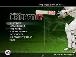 Ea sports cricket 2007 only by the rain full game free pc.