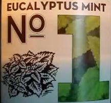 Test Scents Eucalyptus Mints 1-8