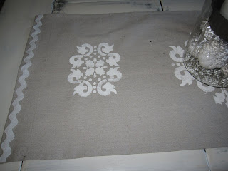cheap shabby chic table runner