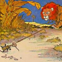 El lleó i el ratolí (Isop)
