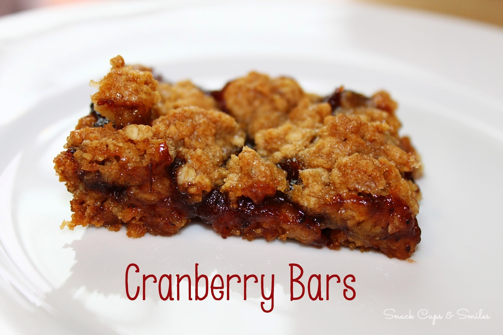 Cranberry Bars #desserts #recipes #easyrecipes #cranberrysauce