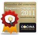 Mejor bloguero de cocina 2011